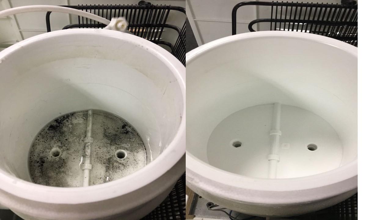 Higienização de purificadores
