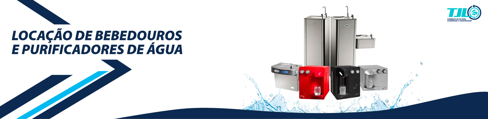 Locação de bebedouros e purificadores de água